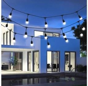 Polux Kültéri dekorációs lánc GIRLANDA 5,6m 10xE27/6W/230V IP44 SA1346