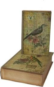Book Box 2 db tárolódoboz - Antic Line