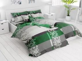 7 részes Luxury zöld pamut ágyneműhuzat
