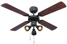 Globo Globo 03808 - Mennyezeti ventilátor HARVEY 3xGU10/50W/230V GL5367