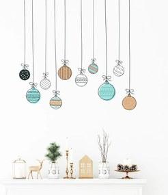 Christmas Balls falmatrica, 40 x 40 cm - Ambiance