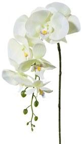 Mű orchidea, fehér, 86 cm