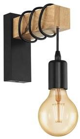 Eglo Eglo 32917 - Fali lámpa TOWNSHEND 1xE27/10W/230V EG32917
