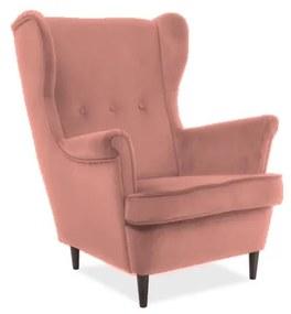 ARISTO Velvet fotel, 81x101x85, bluvel 52
