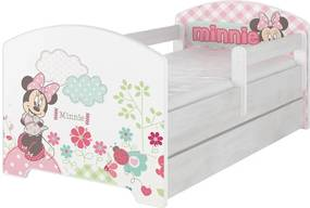 Ourbaby Flowery Minnie Mouse 160x80 cm