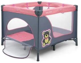 MILLY MALLY | Nem besorolt | Gyermek összecsukható járóka Milly Mally Fun Pink Bear | A kép szerint |