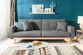 Skagen kanapé 215 cm antracit