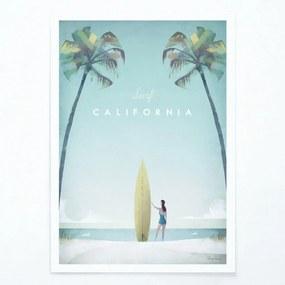 California poszter, A2 - Travelposter