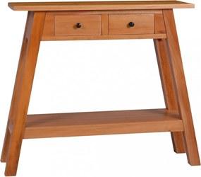 Tömör mahagónifa tálalóasztal 90 x 30 x 75 cm