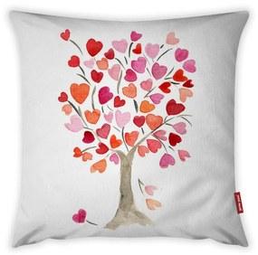 Love Tree Rose párnahuzat, 43 x 43 cm - Vitaus