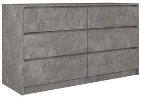 Arosa K140 2X3 komód, beton