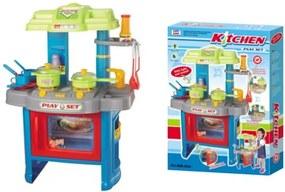 G21 Gyermek konyha edénykészlettel - kék