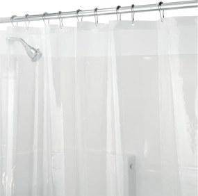 PEVA átlátszó zuhanyfüggöny, 200 x 180 cm - iDesign
