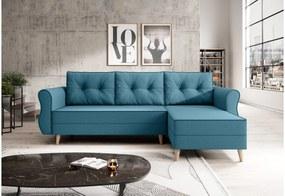 NEAPOL L alakú ülőgarnitúra, 230x90x140, malmo 85