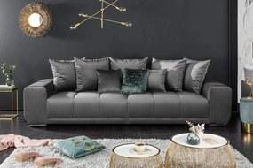 ELEGANCIA ezüst kanapé 280cm