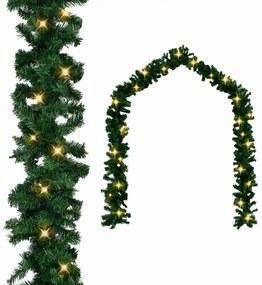 vidaXL Karácsonyi füzér LED-es izzókkal 10 m