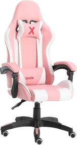 SmileGAME by Pepita Xtreme Gamer szék - fehér-rózsaszín