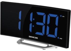 Sencor SDC 120 ébresztőóra, fekete