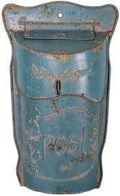 Lettres Bleue kék postaláda - Antic Line
