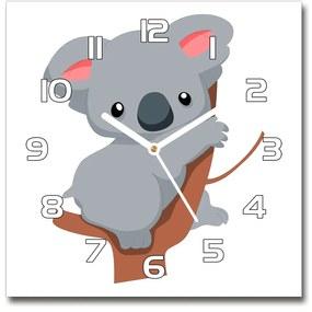 Szögletes üvegóra Koala egy fa pl_zsk_30x30_f_66617317