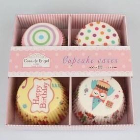 Happy Birthday 100 db-os muffinkosár szett - Dakls