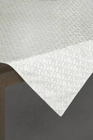 Serena lurex asztalterítő Fehér / ezüst 85 x 85 cm - HS200835