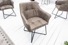 Stílusos szék Giuliana taupe