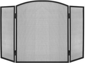 ISO Kandalló képernyő PK013, 118x76cm, fekete, 8787