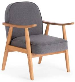 Szürke fotel RETRO