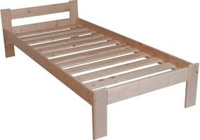 Sallim fenyő ágykeret ágyráccsal 90x200 cm