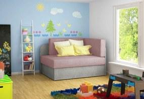 ROSA kinyitható gyerek kanapé, 104x60x75, omega 91/omega 02