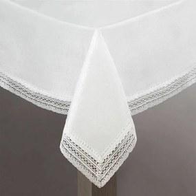 Mariela csipkés asztalterítő Ezüst 140 x 180 cm - HS330466