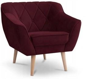 SD DEANA fotel - bordó