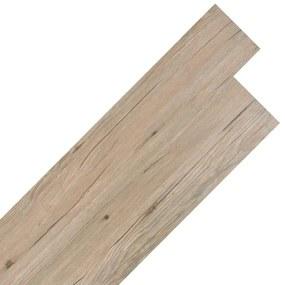vidaXL barna tölgy színű öntapadó 2 mm-es PVC padló burkolólap 5,02 m²