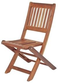 Montana összecsukható kerti gyerek szék eukaliptuszfából - ADDU