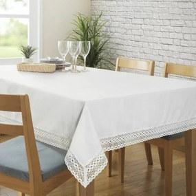 Karina csipkés asztalterítő Krémszín 140 x 220 cm - HS324716