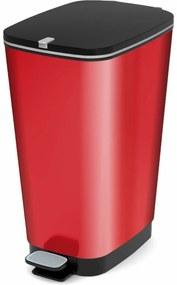 KIS Chic Bin L szemeteskosár, 50 l, piros