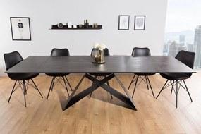 Széthúzható étkezőasztal Brock láva 180-260 cm