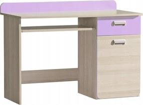 DL LUCAS L10 íróasztal Szín: Lila