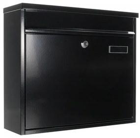 T02804 Hochhaus II postaláda fekete színben 315x360x115mm