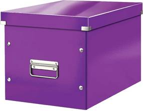 Office lila tárolódoboz, hossz 36 cm - Leitz