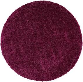 Aqua Liso lila szőnyeg, ø 100 cm - Universal
