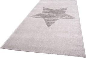 Lucero csillagos szőnyeg – szürke