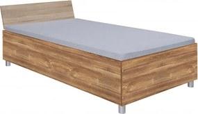 Como 120x200 cm ágykeret sonoma/barna ágyráccsal