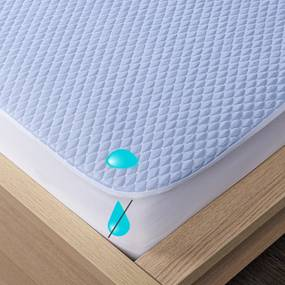 4Home Cooler körgumis vízhatlan hűsítő matracvédő, 90 x 200 cm + 30 cm, 90 x 200 cm