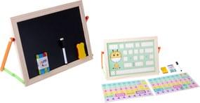 KIK Kétoldalas tábla gyerekeknek 41 cm x 27 cm, KX6903
