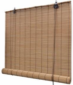 vidaXL barna bambuszroló 140 x 220 cm
