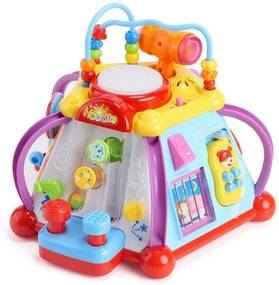 Készségfejlesztő játékcentrum babáknak