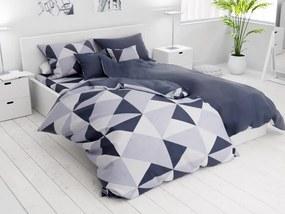 7 részes Morocan kék pamut ágyneműhuzat
