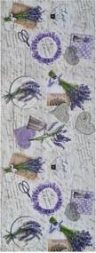 Sprinty Lavender futószőnyeg, 52 x 200 cm - Universal